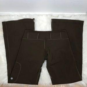 Lululemon Belt-it-Out pant Legging Brown pocket 6